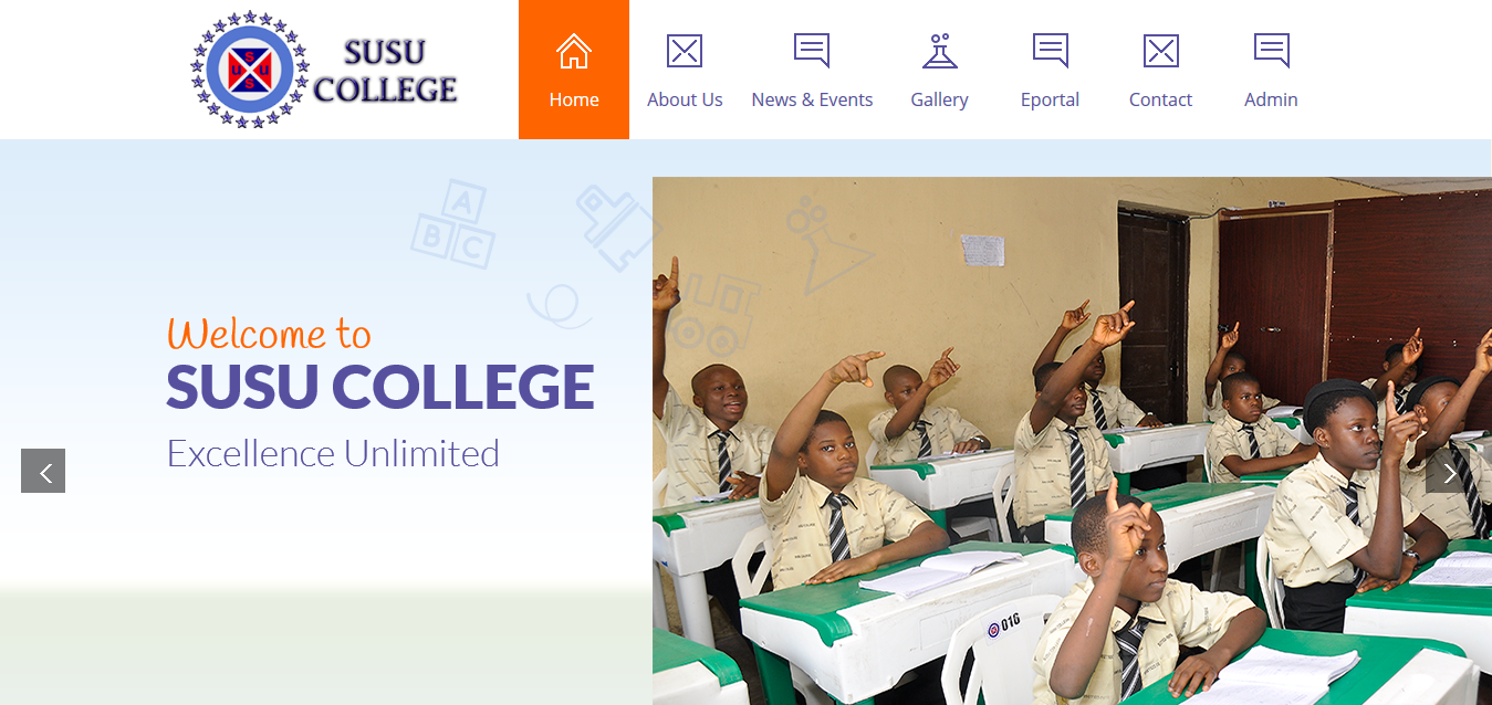 SUSU COLLEGE Anambra State Website and School Portal